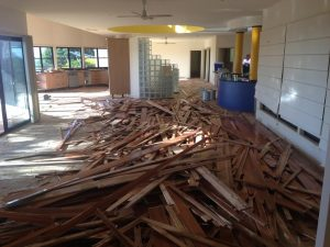 Timber Floor Removal Gold Coast